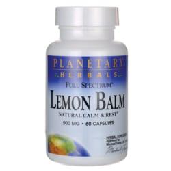 Planetary HerbalsFull Spectrum Lemon Balm