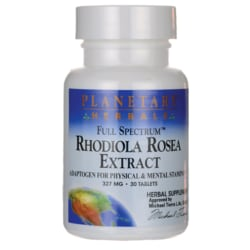 Planetary HerbalsFull Spectrum Rhodiola Rosea Extract