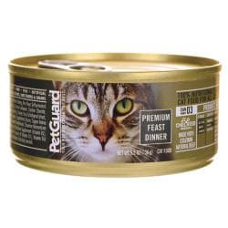 PetGuardCanned Cat Food Premium Feast Dinner