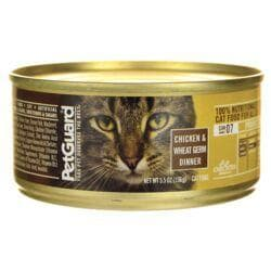 PetGuardCanned Cat Food Chicken & Wheat Germ Dinner