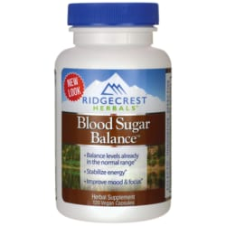 Ridgecrest HerbalsBlood Sugar Balance