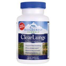 Ridgecrest HerbalsExtra Strength ClearLungs