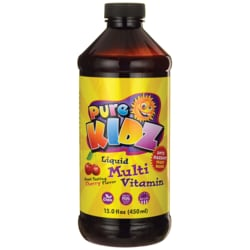 Pure KidzLiquid Multivitamin - Cherry Flavor