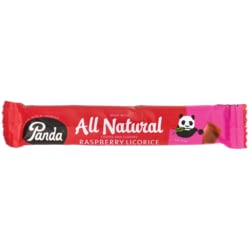 Panda LicoriceAll Natural Raspberry Licorice Bar
