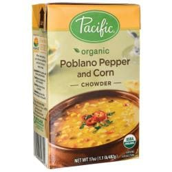 Pacific Natural FoodsOrganic Poblano Pepper and Corn Chowder