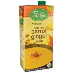 Pacific Natural FoodsOrganic Cashew Carrot Ginger Soup