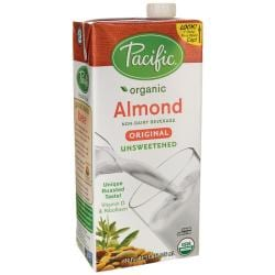 Pacific Natural FoodsOrganic Almond Non-Dairy Beverage - Unsweetened Original