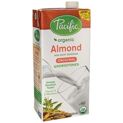 pacific natural foods unsweetened almond milk