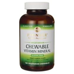 Pioneer Chewable Vitamin Mineral Fruit Flavored