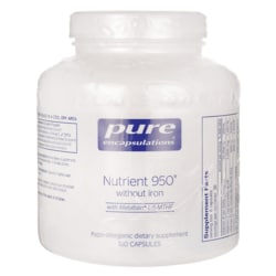 Pure EncapsulationsNutrient 950 without Iron