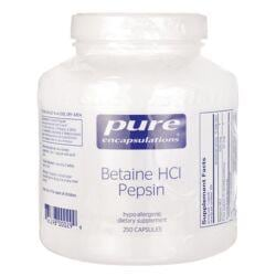 Pure EncapsulationsBetaine HCl Pepsin