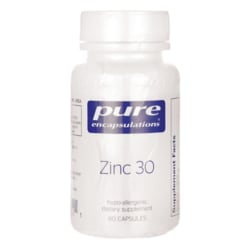 Pure EncapsulationsZinc 30