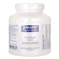 Pure EncapsulationsStrontium (citrate)