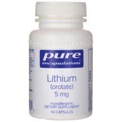 Pure EncapsulationsLithium Orotate