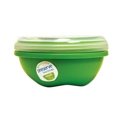 PreserveSmall Round Food Storage Apple Green