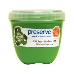 PreserveMini Round Food Storage Apple Green
