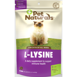 Pet NaturalsL-Lysine for Cats - Chicken Liver Flavored