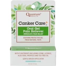 QuantumCanker Care + Oral Pain Reliever