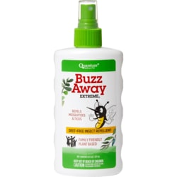 QuantumBuzz Away Extreme Natural Insect Repellent