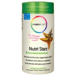 Rainbow LightNutri Stars Food-Based Multivitamin - Fruit Punch