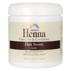 Rainbow ResearchHenna Hair Color and Conditioner - Dark Brown (Sable)