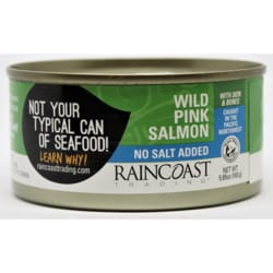 RaincoastWild Pink Salmon No Added Salt