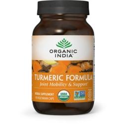 Organic India Fórmula de cúrcuma