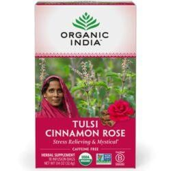 Organic IndiaTulsi Cinnamon Rose Tea