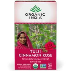 Organic India Tulsi Cinnamon Rose Tea