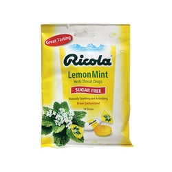 Ricola Sugar Free Herb Throat Drops Lemon Mint
