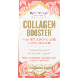 Reserveage Organics Collagen Booster with Hyaluronic Acid and Resveratrol