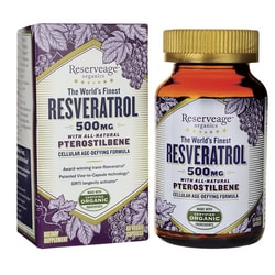 Reserveage OrganicsResveratrol with All-Natural Pterostilbene