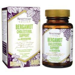 Reserveage NutritionBergamot Cholesterol Support with Resveratrol