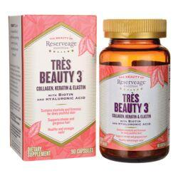Reserveage NutritionTres Beauty 3 with Biotin and Hyaluronic Acid