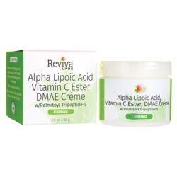 Reviva LabsAlpha Lipoic Acid Vitamin C Ester DMAE Creme