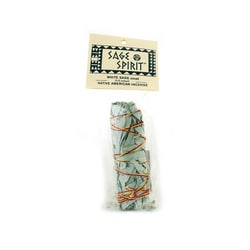 Sage SpiritWhite Sage Native American Incense Small 4-5 Inches