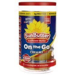 SunButterSunflower Butter - On th Go - Creamy
