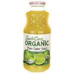 santa cruz organic lime juice