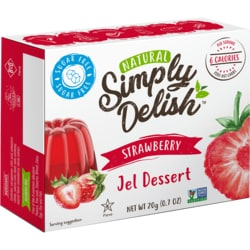 Simply DelishStrawberry Jel Dessert