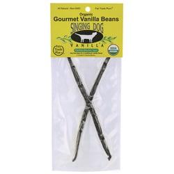 Singing Dog VanillaOrganic Gourmet Vanilla Beans