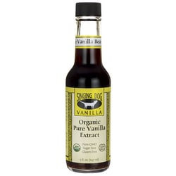 Singing Dog VanillaOrganic Pure Vanilla Extract