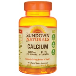 Sundown NaturalsCalcium Plus Vitamin D3