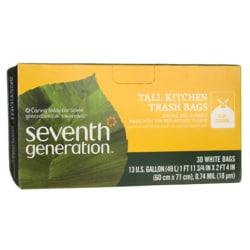 Seventh Generation13 Gallon Tall Kitchen Trash Bags