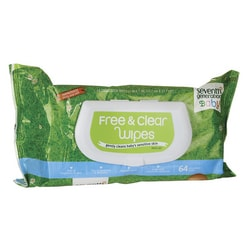 Seventh GenerationFree and Clear Baby Wipes - Unscented