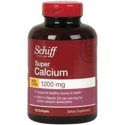 SchiffSuper Calcium 1200 mg