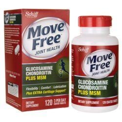 SchiffMove Free Joint Health Glucosamine Chondroitin Plus MSM