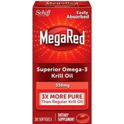 SchiffMegaRed Omega-3 Krill Oil