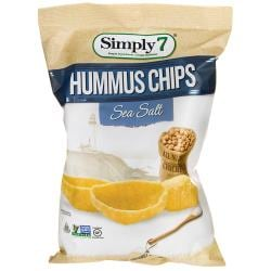 Simply 7Hummus Chips - Sea Salt