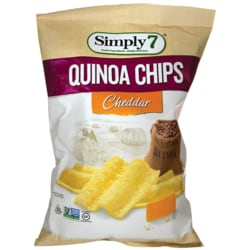 Simply 7Quinoa Chips - Cheddar