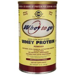 SolgarWhey To Go Whey Protein Powder - Vanilla Naturally Flavored